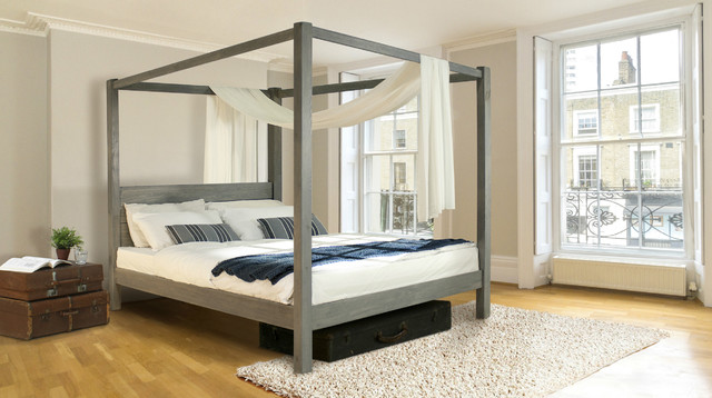 classic four poster bed by get laid beds contemporary