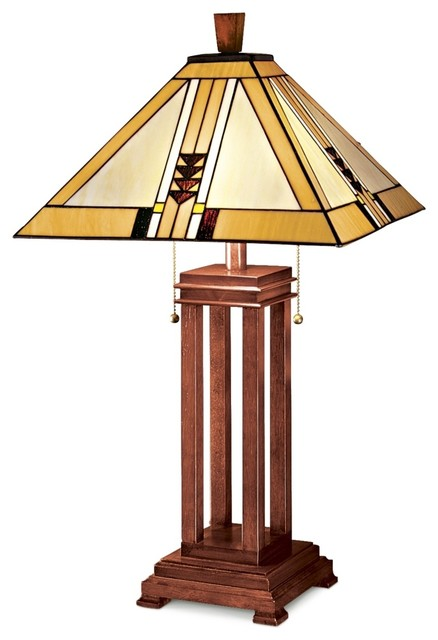Arts and Crafts - Mission Mission Prairie Table Lamp modern-table-lamps