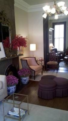 19th C House in DC traditional-living-room