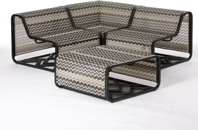 Missoni for Target®: 4-pc. Patio Sectional  patio furniture and outdoor furniture