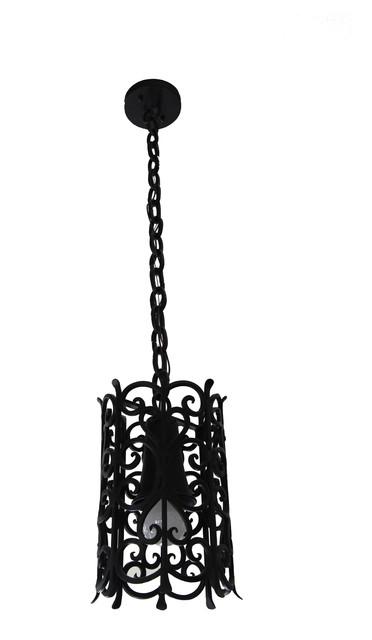 custom iron pendant lights - mediterranean - pendant lighting - san diego
