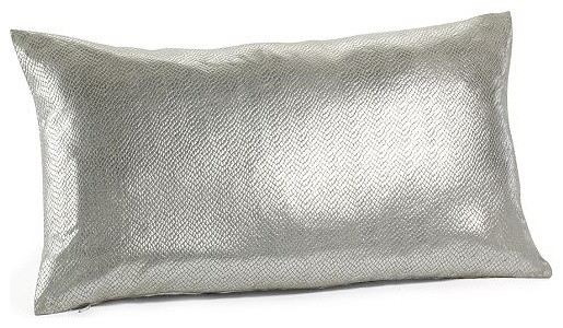 Frosted Foil Pillow Cover contemporary pillows