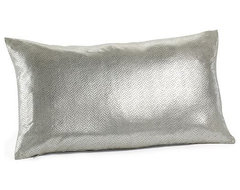 Frosted Foil Pillow Cover contemporary-decorative-pillows