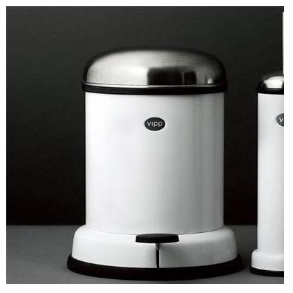 Vipp 14 Two-Gallon Bathroom Bin modern-trash-cans