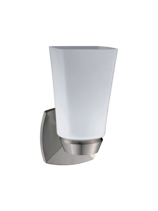 Gatco - Gatco 1691 Jewel Single Light Bathroom Wall Sconce - Jewel Single Light Bathroom Wall SconceThe finest in fashion bath, kitchen and home accessories. From traditional to contemporary, offering a variety of designer collections to compliment your style. Choose from many bathroom accessories such as towel bars, mirrors, grab bars, shower curtain rods, hooks, and free standing and counter top accessories.Gatco's Premier collections are constructed of the finest brass. Our high quality pieces are fabricated under a process know as forging. Forging is the ideal manufacturing process for creating smooth and precise detail of solid brass. Our finishes are the finest in the industry with each piece hand polished to perfection.Features: