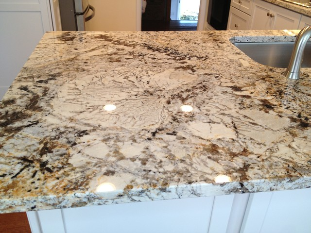 Granite Countertops Lowes : ... -Deveron-Dove White w/Sensa Caroline Summer Granite traditional