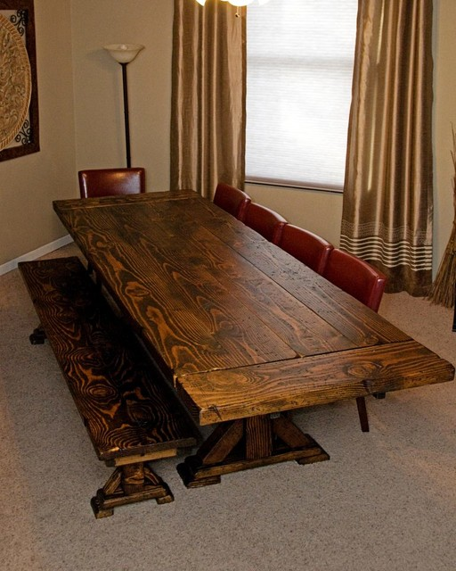 Past Projects traditional dining tables