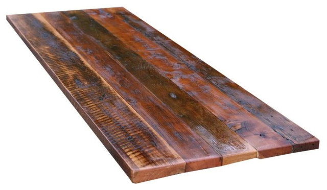 Reclaimed Hardwood Table Top 2400 Est Retail 1300