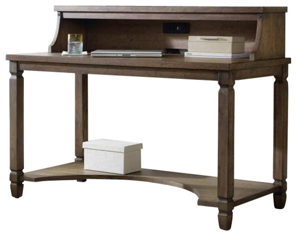 Hooker Furniture 500-16 54 Inch Writing Desk in Brown - Transitional - Desks And Hutches - by Cymax