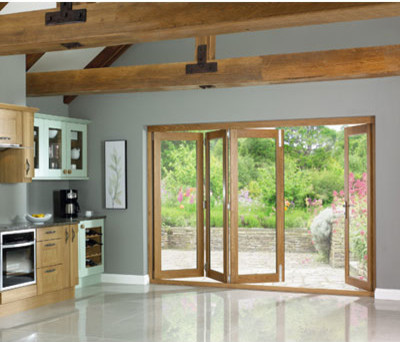 Folding doors folding doors patio for Patio doors with windows that open