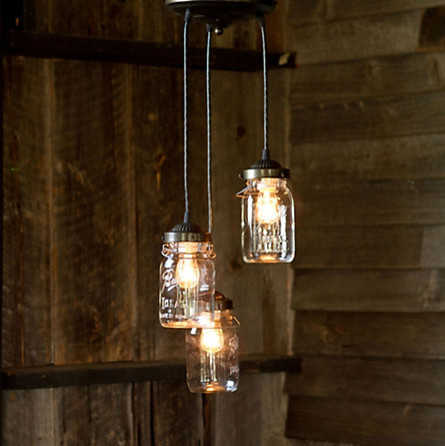 Mason Jar Pendant in For Home Shop by Category Lighting Pendants ...