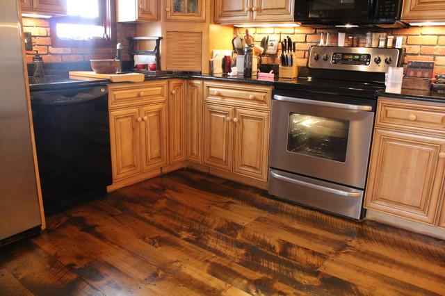 Circular Sawn Wide Plank Pine Floors Traditional