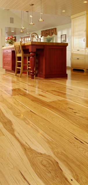 Hickory floor  wood flooring