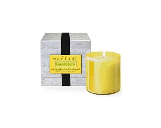 Guest Room Daffodil Candle -