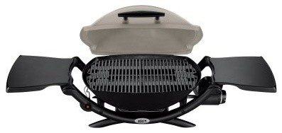 weber q 2000 lp gas grill modern outdoor grills by hayneedle. Black Bedroom Furniture Sets. Home Design Ideas