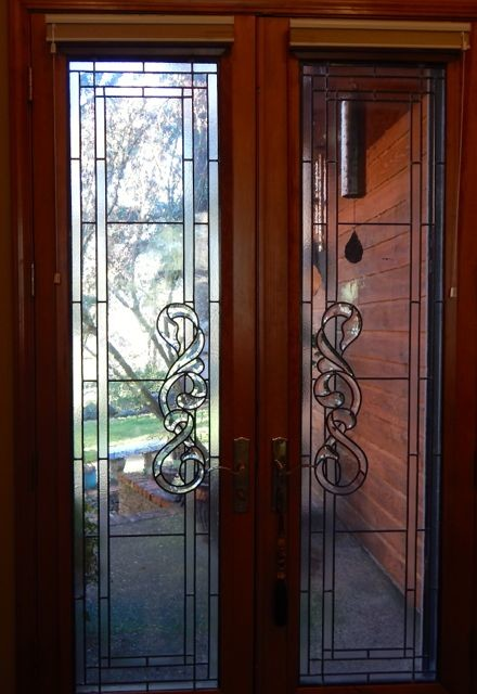 beveled glass doors traditional front doors portland