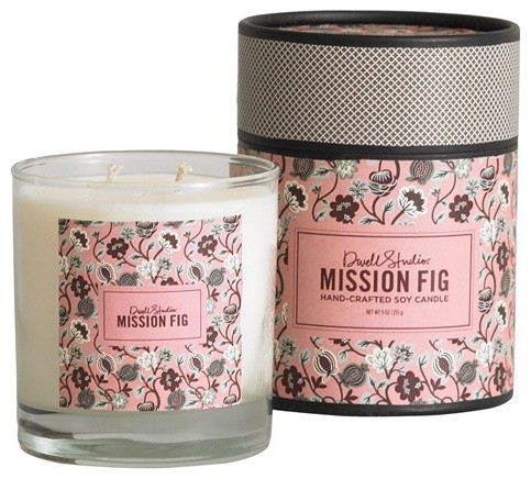 DwellStudio Home Candle, Mission Fig contemporary-candles