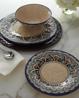 Caff Ceramiche 12-Piece Esmeralda Dinnerware traditional-dinnerware