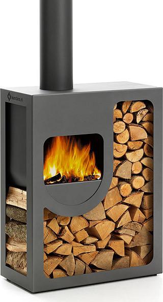 Harrie Leenders Spot Outdoor Fireplace modern-firepits