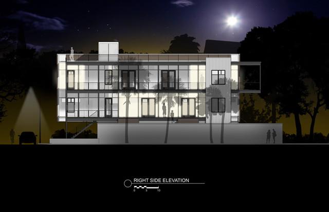 Modern Charleston Single House Modern Exterior