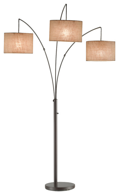 Trinity Arc Lamp Contemporary Floor Lamps By Michael