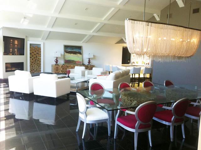 Residence, Long Branch modern-living-room