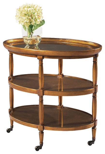 Tuscan Overtures Oval End Table traditional-side-tables-and-end-tables