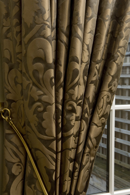 dining room traditional curtains toronto by gillian gillies