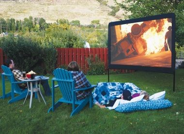 Camp Chef Outdoor Movie Screen modern outdoor products