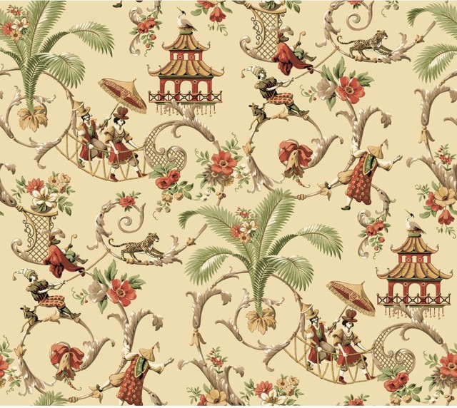oriental themed wallpaper stained - photo #8