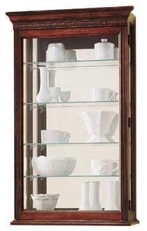 Edmonton Wall Curio Cabinet modern-kitchen-cabinets