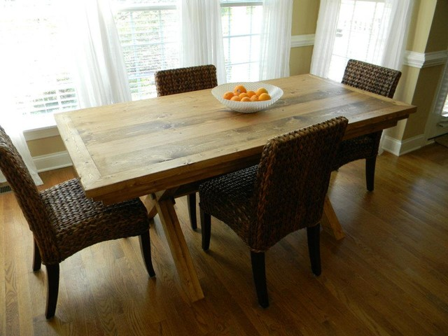 Grassland Dining Table Eclectic Dining Tables Raleigh By Cecil