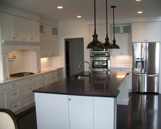 Waddinton Project - North Country Millworks fabricated the entire kitchen and moldings, and installed.