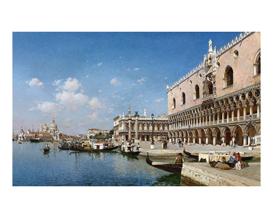 The Grand Canal, Venice | del Campo | Painting Reproduction -