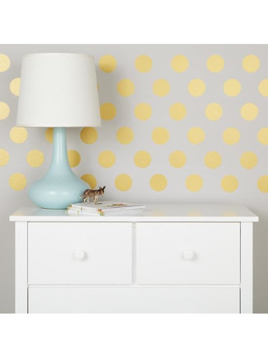 Lottie Dots Decal, Gold -
