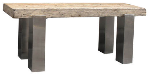 Urban and Reclaimed Furnishings available at Madison McCord Interiors contemporary-dining-tables
