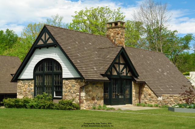 New Barn Office - Pennsylvania traditional-exterior