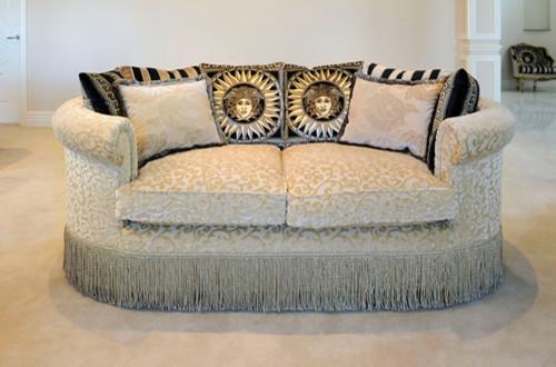 Georgian Influenced Sofa traditional-sofas