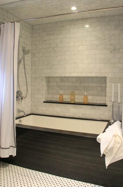 Downtown  Living contemporary-bathroom