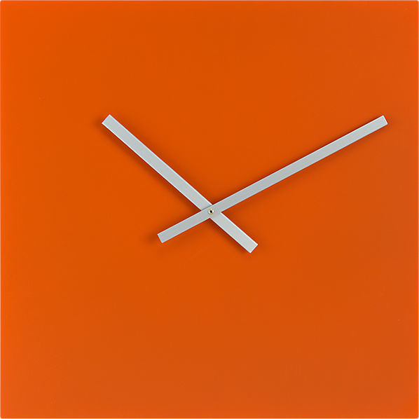 Ultra Modern Square Wall Clock Interior Decorating Terms 2014