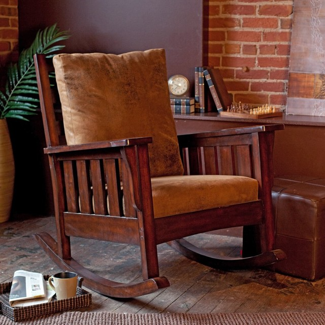Remington Mission Rocking Chair - Modern - Rocking Chairs - by ...