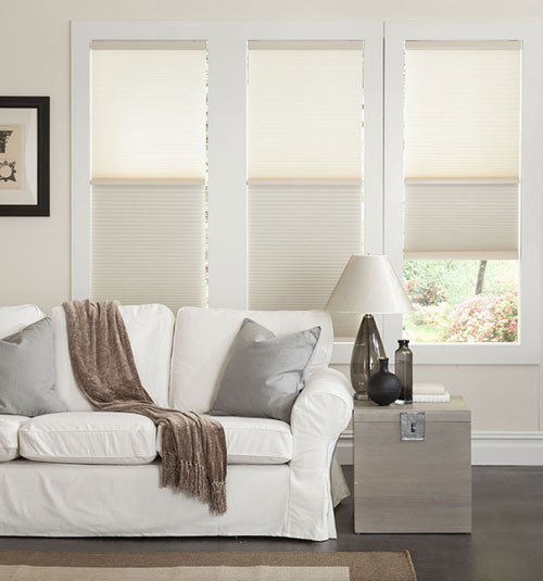 Blindsgalore Day/Night Cordless Cellular Shade contemporary-cellular-shades