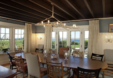 Watch Hill Rhode Island Residence traditional dining room