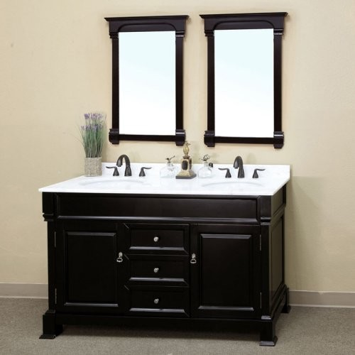 Elegant Bathroom Astounding Large Double Vanity For Bathroom Interior