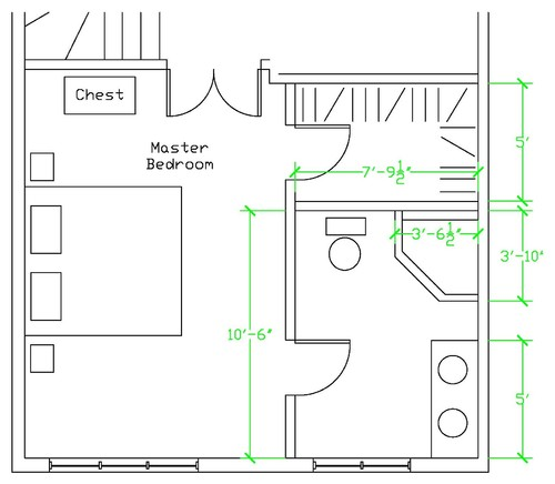 Master ensuite layout for Bedroom and ensuite plans