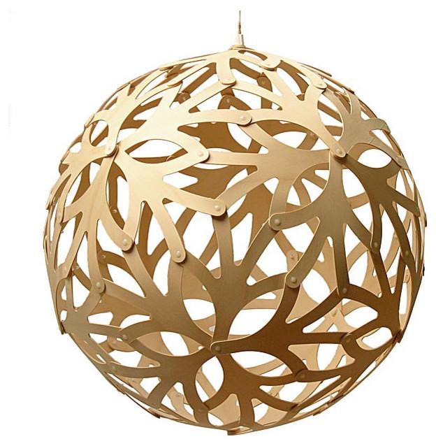 David Trubridge Floral - Natural pendant-lighting