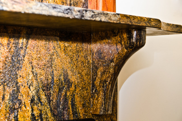 Custom Granite Corbel Contemporary Indoor Fireplaces: Modern Corbels For Granite  Countertops