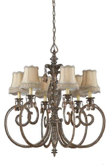 Uttermost Marche De Fleurs Vintage Art modern-chandeliers