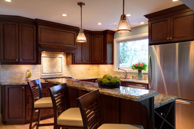 Kitchen Reno contemporary-kitchen