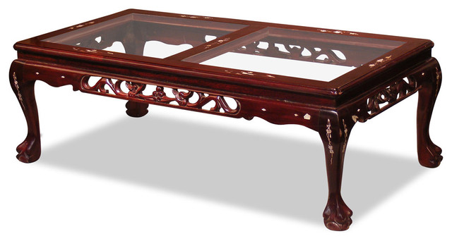 Rosewood Imperial Dragon Coffee Table Asian Coffee Tables By China Furniture And Arts